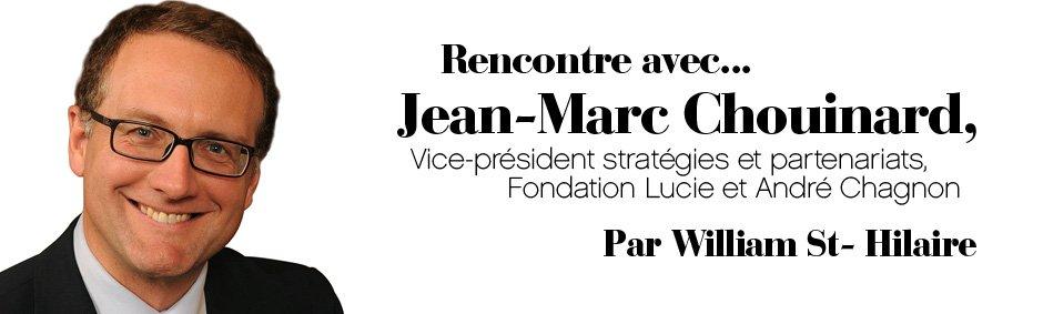 Rencontre avec Jean-Marc Chouinard